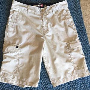Quicksilver Men's Amphibians Tan Shorts 30